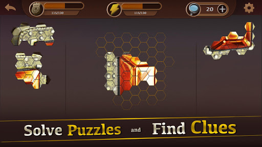 Detective & Puzzles - Mystery Jigsaw Game  screenshots 2