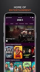ZEE5 Premium MOD APK Latest [100% Unlocked] free download 1