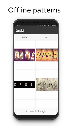 photo designer - write your name with shapes screenshot 2