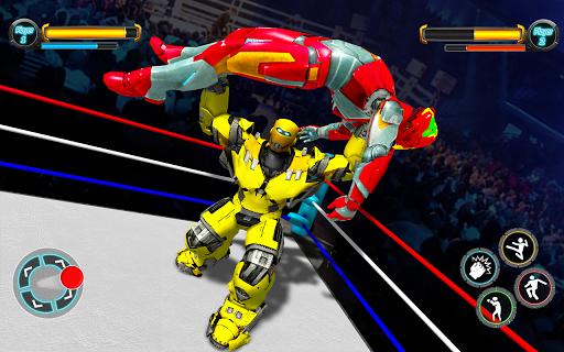Grand Robot Ring Fighting 2020 : Real Boxing Games screenshots 1