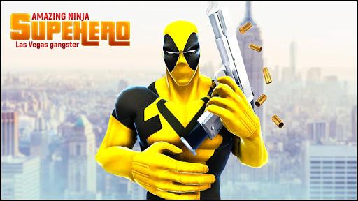 Real Ninja Superhero Las Vegas gangster Fight 1.0.1 screenshots 11