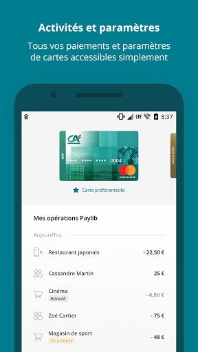 Paiement mobile CA  Screenshots 2