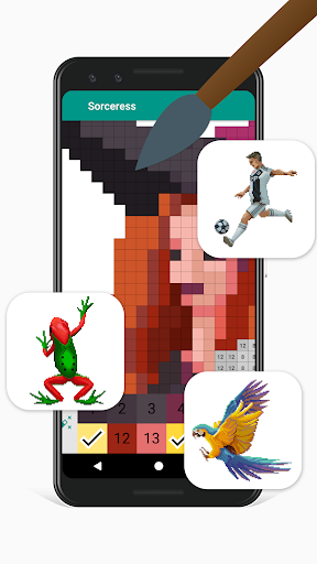 Pixies Pixel Art - Coloring book, Color by Number  screenshots 1