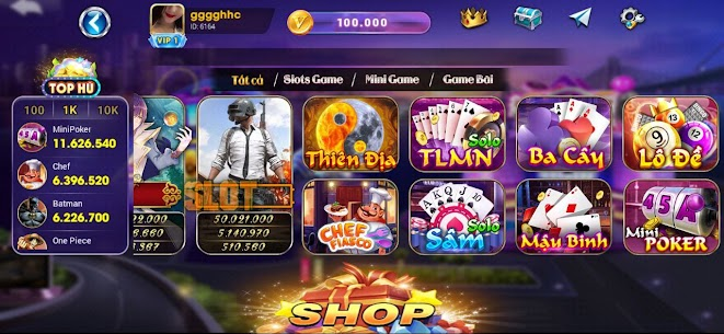 Luxy Vip: Slot Danh Bai NoHu 1