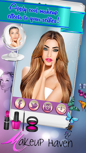 Hairstyle & Makeup Beauty Salon with Photo Effects  screenshots 3