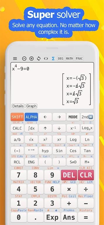 Camera math calculator - Take photo to solve  poster 6