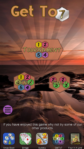 Get To 7, merge puzzle game - tournament edition.  screenshots 5