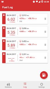 Motorcycle Fuel Log - Mileage tracker