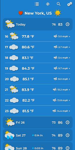 Weather Forecast 2.0.3 Screenshots 4