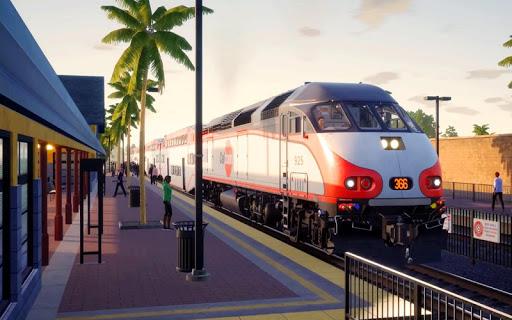 City Train Driving Simulator: Public Train screenshots 12