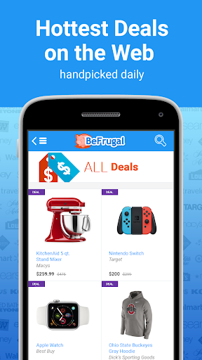 BeFrugal Cash Back & Coupons modavailable screenshots 4