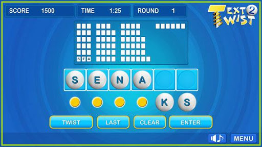 Text Twist 2-Puzzle Word Game 1.0.8 Screenshots 4