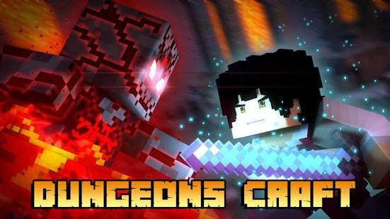 Dungeons Craft for Minecraft PE Screenshot