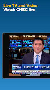 CNBC: Breaking Business News & Live Market Data Screenshot