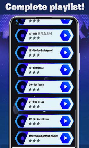 BTS Tiles Hop - Dynamite Bounce Game 2021 0.3 Screenshots 4