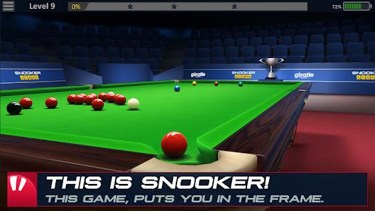 Snooker Stars 3D Online Sports Game Hileli Apk Güncel 2021** 1