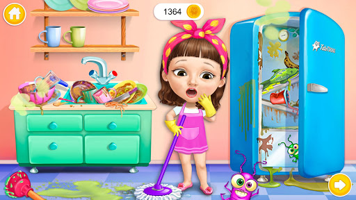 Sweet Baby Girl Cleanup 5 - Messy House Makeover 7.0.30030 screenshots 2