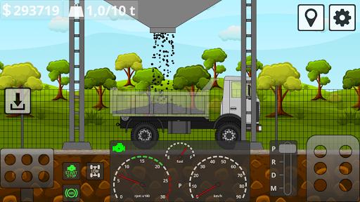 Mini Trucker - 2D offroad truck simulator 1.5.6 screenshots 3