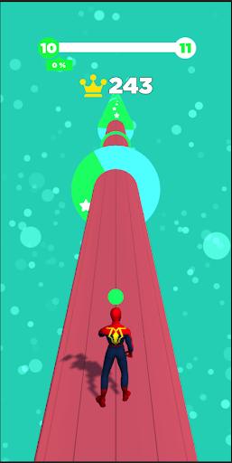 Spider Color Run - Super Heroes Running Game https screenshots 1