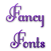 Free Fancy Fonts