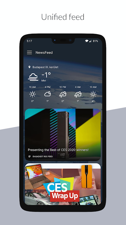 NewsFeed Launcher  poster 1