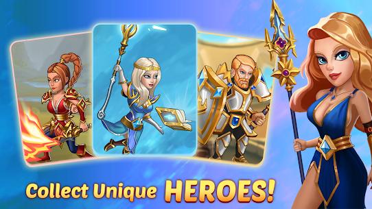 Firestone Idle RPG: Tap Hero Wars MOD (Energy/God Mode) 5