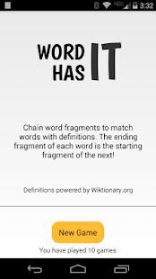 Word Has It