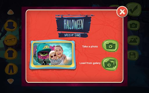 halloween dress up games screenshot 2