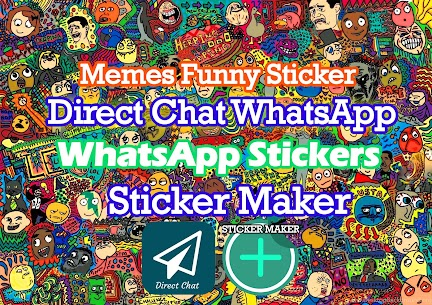 Free Funny Memes Rage Faces Stickers for WAStickerApps Apk Download 2021 3