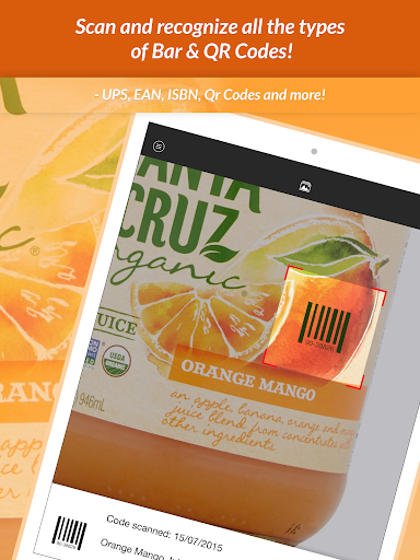 QR Scanner & Barcode reader  Screenshots 5
