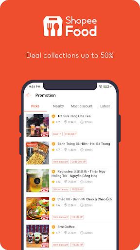 ShopeeFood - Food Delivery apktram screenshots 3