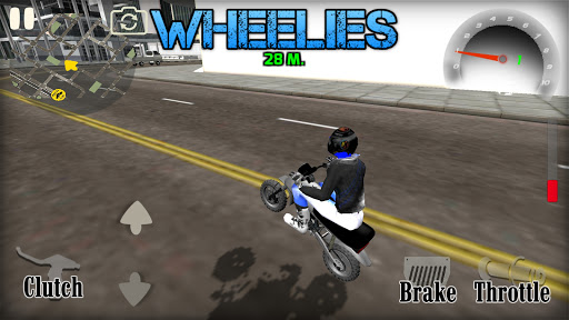 Wheelie King 4 - Online Wheelie Challenge 3D Game 1 screenshots 8