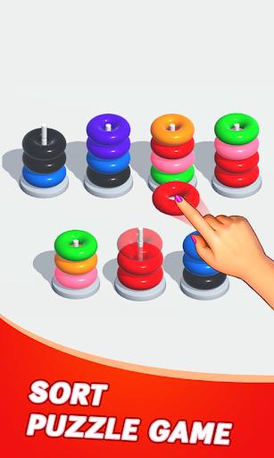 Color Sort Puzzle: Color Hoop Stack Puzzle 1.0.11 screenshots 2