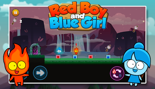 Red boy and Blue girl – Forest Temple Maze 2.19 Mod APK (Unlimited) 1