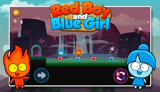 red boy and blue girl - forest temple maze hack