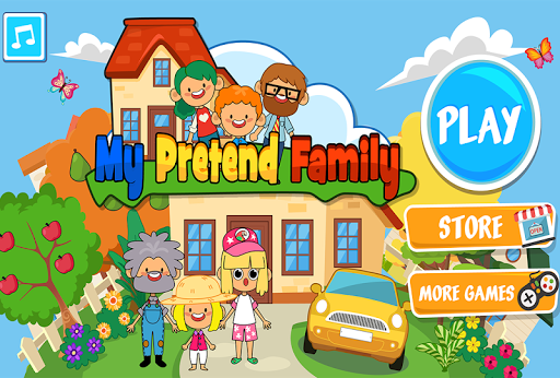 My Pretend Home & Family - Kids Play Town Games! 2.7 Screenshots 10