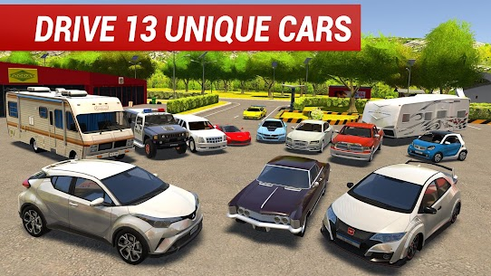 Roundabout 2: A Real City Driving Parking Sim Apk Download 5