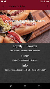 Nadeau's Subs  Apps For Pc – Free Download 2020 (Mac And Windows) 1