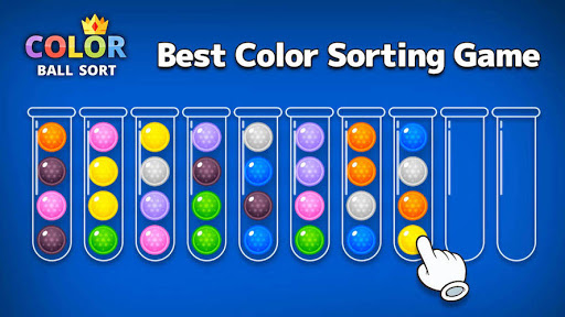 Color Ball Sort - Sorting Puzzle Game apktreat screenshots 1