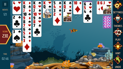 Solitaire 1.21 screenshots 6