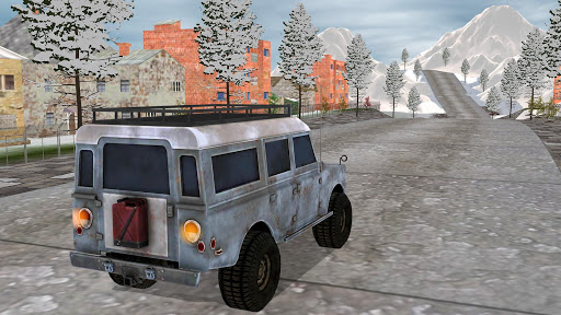 Off-road Jeep Drive-Winter Season Simulator 1.7 screenshots 2