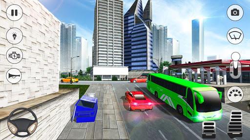 Bus Games - Coach Bus Simulator 2021, Free Games 1.0.8 screenshots 2