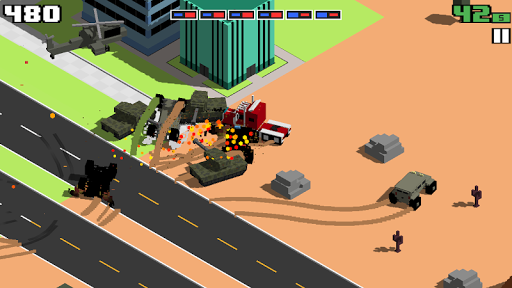 Smashy Road: Wanted android2mod screenshots 20