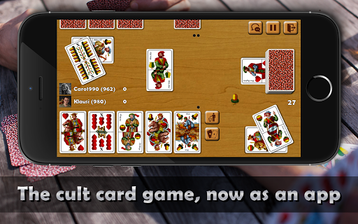 Schnapsen, 66, Sixty-Six - Free Card Game Online 2.94 screenshots 1