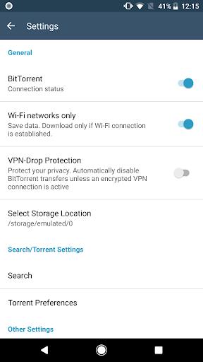 FrostWire: Torrent Downloader & Music Player apktram screenshots 8