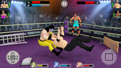 Tag Team Wrestling Games: Mega Cage Ring Fighting modavailable screenshots 3