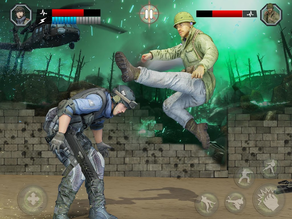 US Army Fighting Games: Kung Fu Karate Battlefield  poster 13