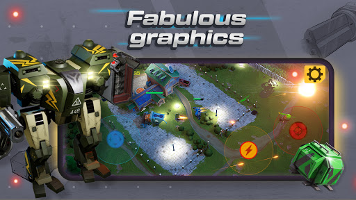Mech vs Aliens: Top down shooter | RPG  screenshots 5
