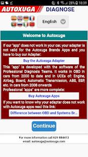 Diagnosis Faults Electronics Cars OBD2 1.0.230 Screenshots 4