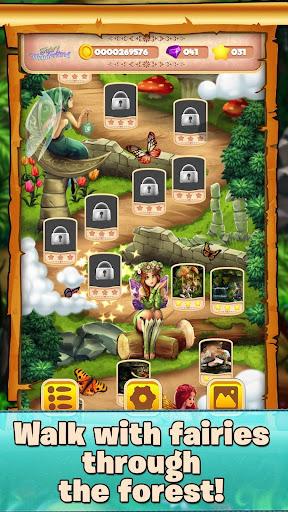 beautiful block puzzle - relaxing fairy tail game screenshot 1